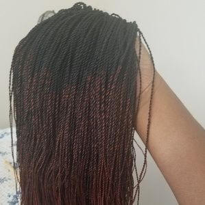 5e5d49a8d Accessories - Million braids wig. Ombre black and wine. 28inches